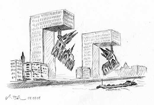 Die Stadtplaner Kolns Scheinen Bei Der Zulassung Von Hochhausbauten Nur Absoluten Hohe Auszugehen Sie Vergessen Dabei Dass Auch Hauser