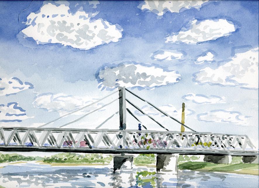 Brücke Karlsruhe